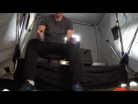 Otter XT Pro Lodge Ice House Set Up And Overview