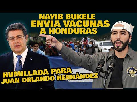 NAYIB BUKELE CONFIRMA QUE AYUDARA A HONDURAS Y MIENTRAS JOH QUEDA EN RIDICULO POR INCAPAZ