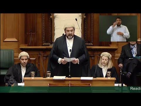 Swearing in members of Parliament