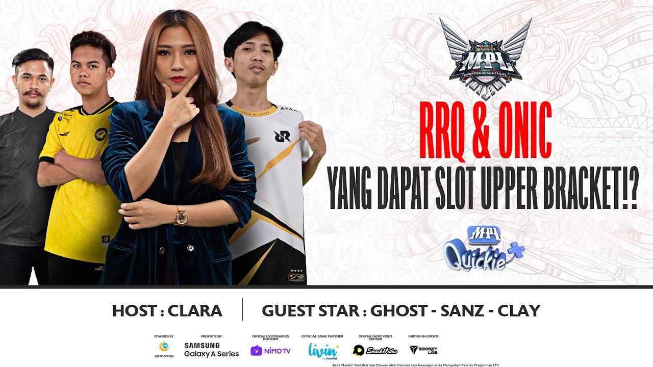 RRQ & ONIC YANG DAPAT SLOT UPPER BRACKET?! MASA SIH?! | MPL Quickie Recap Minggu 7 Hari 3
