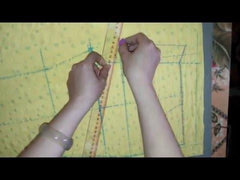 Cách cắt và may quần dài cạp chun(bộ mặc nhà) (phần 1)_How to cut and sew a trousers (part 1)