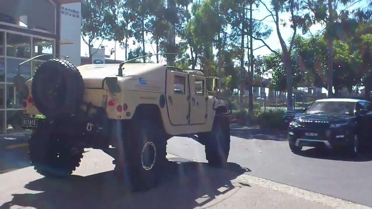 an Over-sized Hummer H1.....Huge...... - YouTube