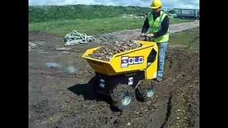 Shannon SOLO walk behind / stand on dumper