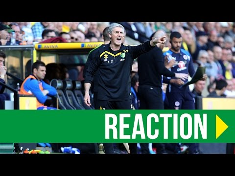 Norwich City 7-1 Reading: Alan Irvine Reaction