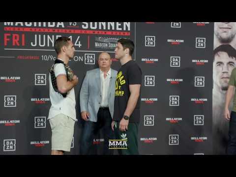 Bellator 222: Rory MacDonald vs. Neiman Gracie Staredown - MMA Fighting