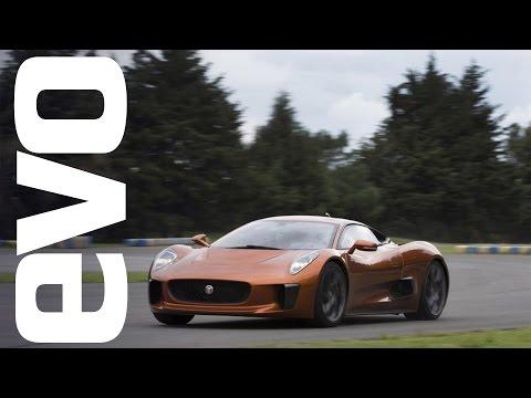 Jaguar C -X75, what's it like to be a Bond villain? | evo DIARIES