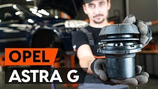 How to replace Brake rotors OPEL ASTRA G Hatchback (F48_, F08_) Tutorial
