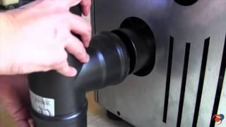 Estufas de pellets Haverland, doble modulación y control electrónico