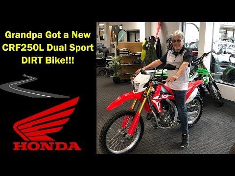 Grandpas CRF250L Fuel Injected Dual Sport Dirt Bike