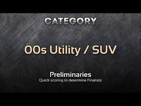 Car Design Competition: 00s Utility / SUV (Preliminaries)