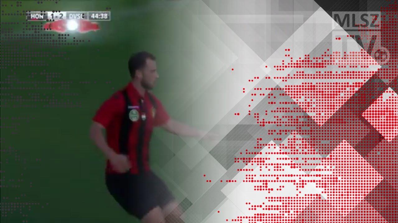 Eppel Márton gólja a Budapest Honvéd - DVSC mérkőzésen