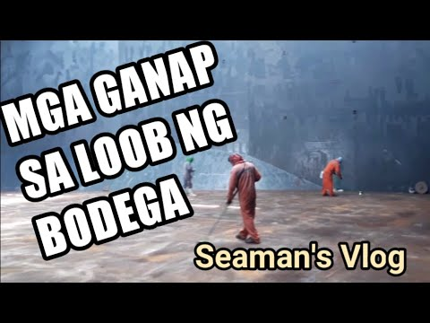 DECK CADET PROBLEMS: Cargo Hold Cleaning! |  seafarer vlog #3