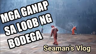 Seaman vlog #3 | Cargo hold cleaning