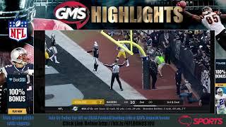 GMS Pittsburgh Steelers vs Oakland Raiders - FULL HD GAME Highlights Week 14