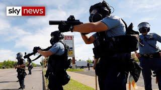 George Floyd: US police officer arrested after death of black man in custody
