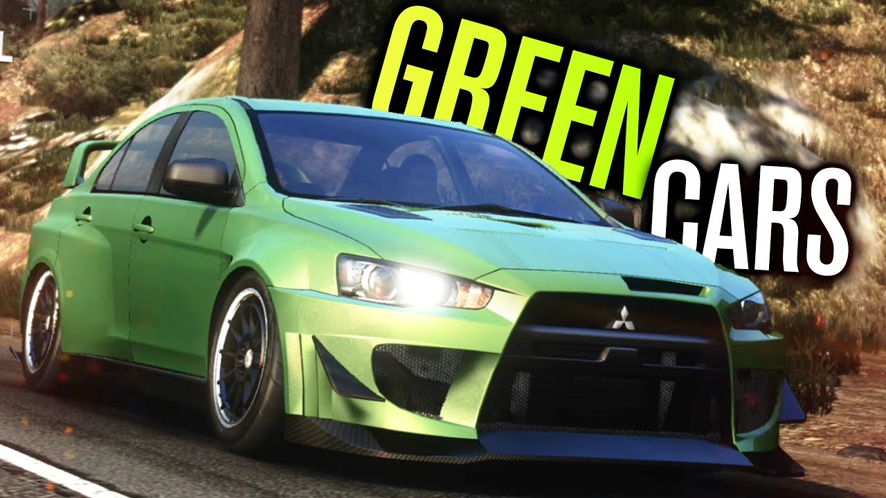 Green Cars Are Best