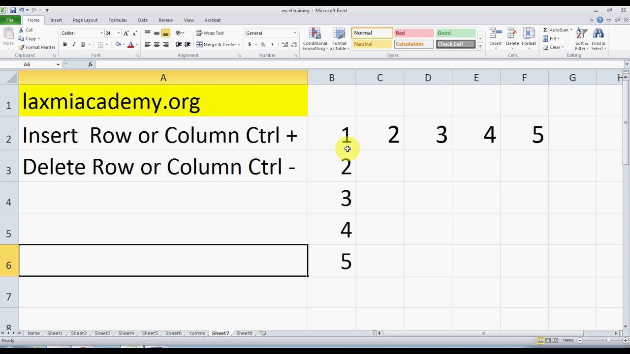 How to remove formatting in Excel using Format Painter