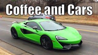 Cars Leaving OKC Coffee and Cars - February 2019
