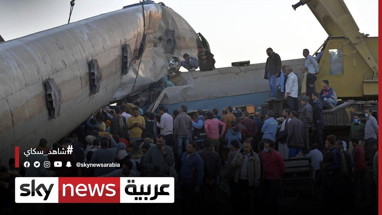 النيابة العامة المصرية: مساعد السائق ومراقب البرج كانا متعاطيي مخدرات ما تسبب في حادث قطاري سوهاج  - نشر قبل 53 دقيقة