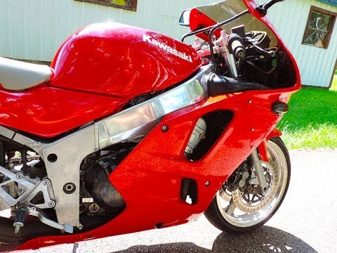 1996 Kawasaki Zx6r Ninja 600 Sold Youtube