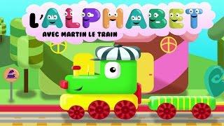 L'alphabet avec Martin le Train | Apprendre les lettres de l'alphabet pour les enfants HD