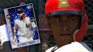 THIS CARD IS AMAZING?! DIAMOND GLEYBER TORRES DEBUT! MLB THE SHOW 18 DIAMOND DYNASTY