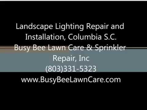 Landscape Lighting Repair and Installation, Columbia S.C.
