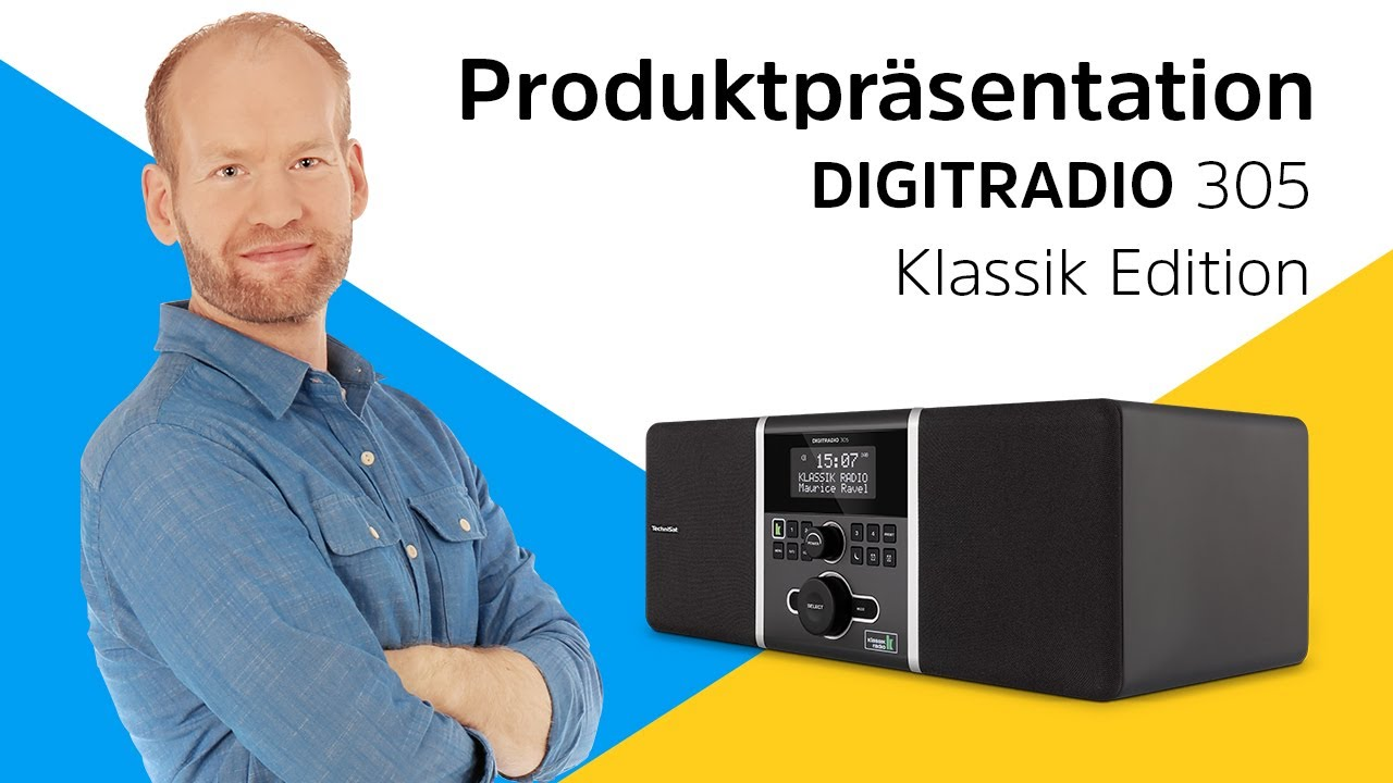 Video: DIGITRADIO 305 Klassik Edition  | Für Kenner klassischer Musik. | TechniSat
