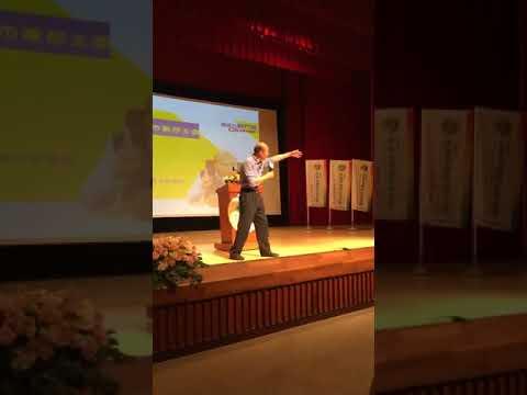 韓國瑜在成功大學的演講