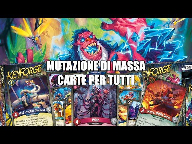 Nuove carte a disposizione di tutti | Keyforge:Mass Mutation