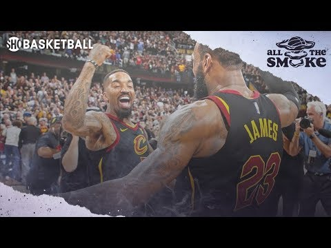 LeBron's Work Ethic & Drive Changed J.R. Smith's Life | ALL THE SMOKE