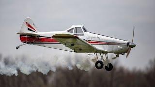 Bill Hempel 25% Piper Pawnee - FlyingGiants Flight Review