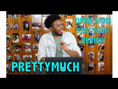 PRETTYMUCH- OPEN ARMS REACTIONREVIEW