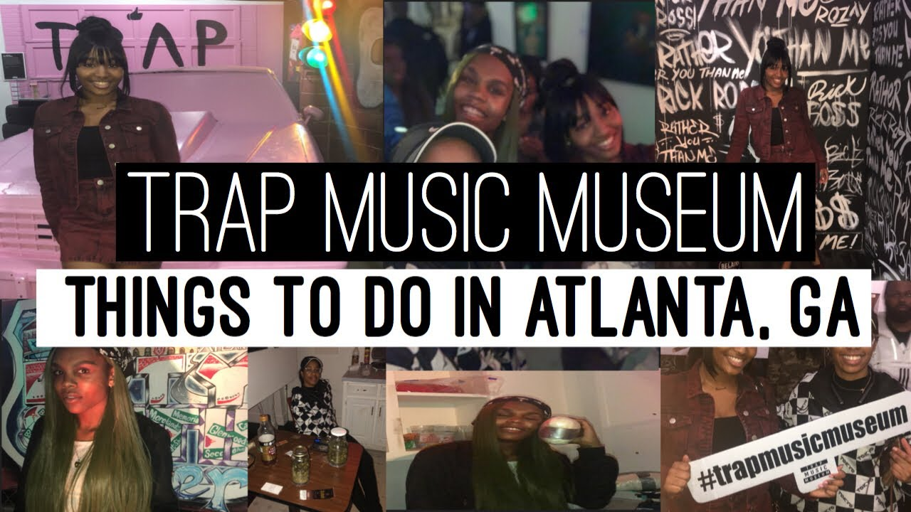 Trap Music Museum| Things To Do in ATL, GA| Walk-Thru Vlog| Lifestyle