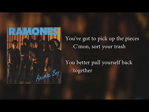 Ramones - Bonzo Goes To Bitburg (lyrics)