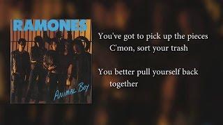Ramones - Bonzo Goes To Bitburg (lyrics)