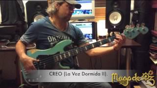 Creo (La voz Dormida II). Unaccompanied Bass Cover