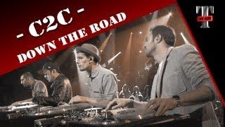 C2C - Down The Road (Live on TV Show TARATATA)