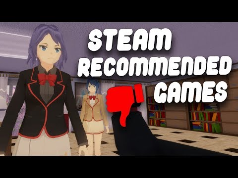 So I played 3 more horrible games Steam recommended to me..