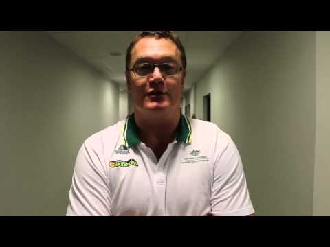Game Reax - Luc Longley (Boomers vs. Finland) #GoBoomers