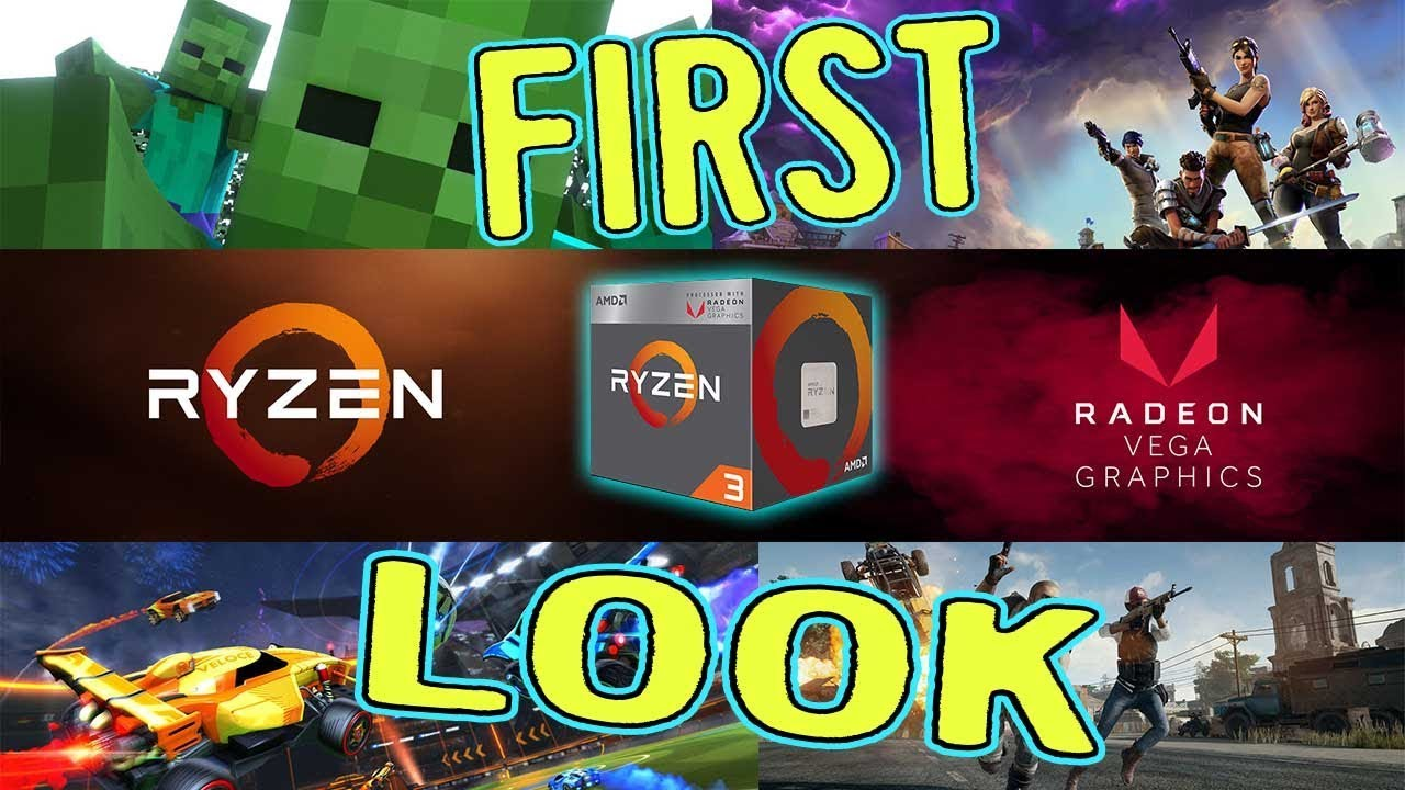 Ryzen 5 2400g With Radeon Rx Vega11 Graphics Best Gaming Cpu Yet Youtube