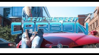 Need for Speed: Carbon - old game, девушка стример