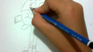 HOW TO DRAW DARWIN FROM THE AMAZING WORLD OF GUMBALL:)