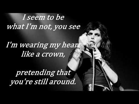The Great Pretender  FREDDIE MERCURY (with lyrics)