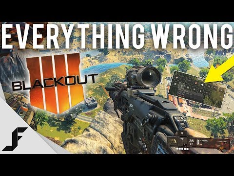 Everything wrong with Blackout and how to fix it.