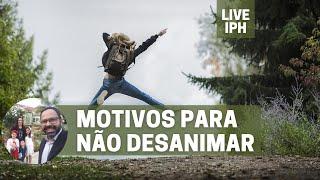 Live IPH 15/10/21 - Motivos para não desanimar
