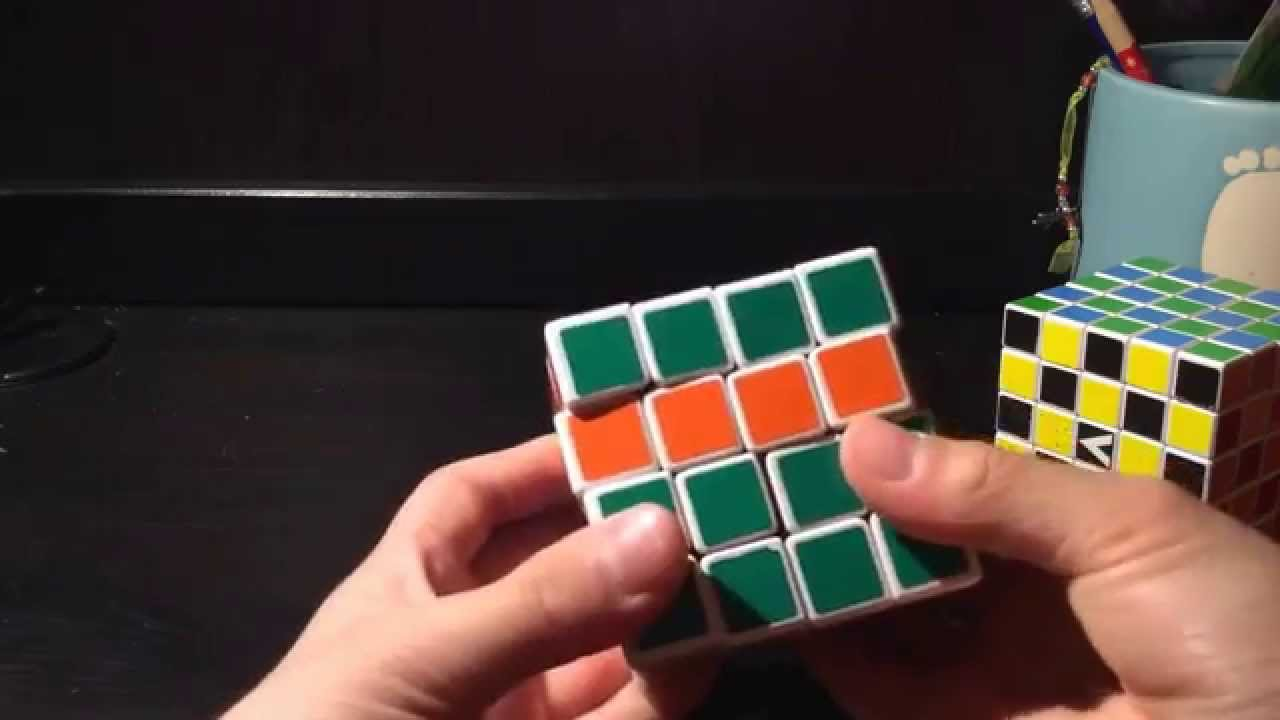 How to solve a 4x4 Rubik's Cube (explanation, notation)