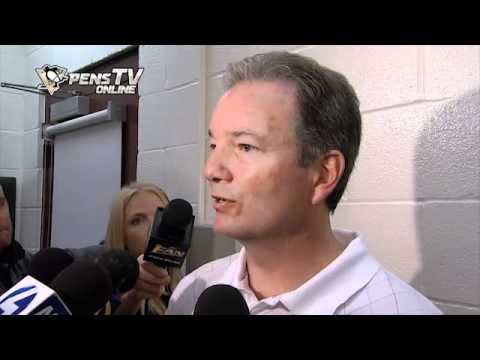 Ray Shero Update on Sidney Crosby (Aug 15/11)