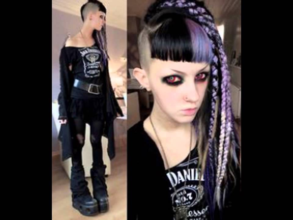 Gothic Hairstyle Dreadlocks