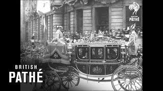 George VI Heartfelt Coronation Speech and Procession, 1937 [HD]